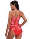 Women's Sexy Spaghetti Straps High Stretchy Swimsuit