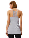 Maternity Nursing Breastfeeding Spaghetti Straps Cotton Cami Tops