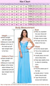 Floral Pattern Sleeveless Double V-Neck Floor-Length Chiffon Bridesmaid Dress