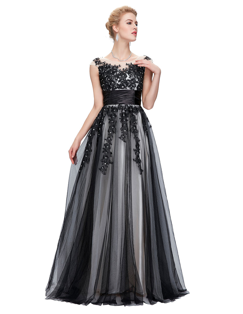 GK Sleeveless Soft Tulle Ball Gown Evening Prom Party Dress 8 Size US 2~16