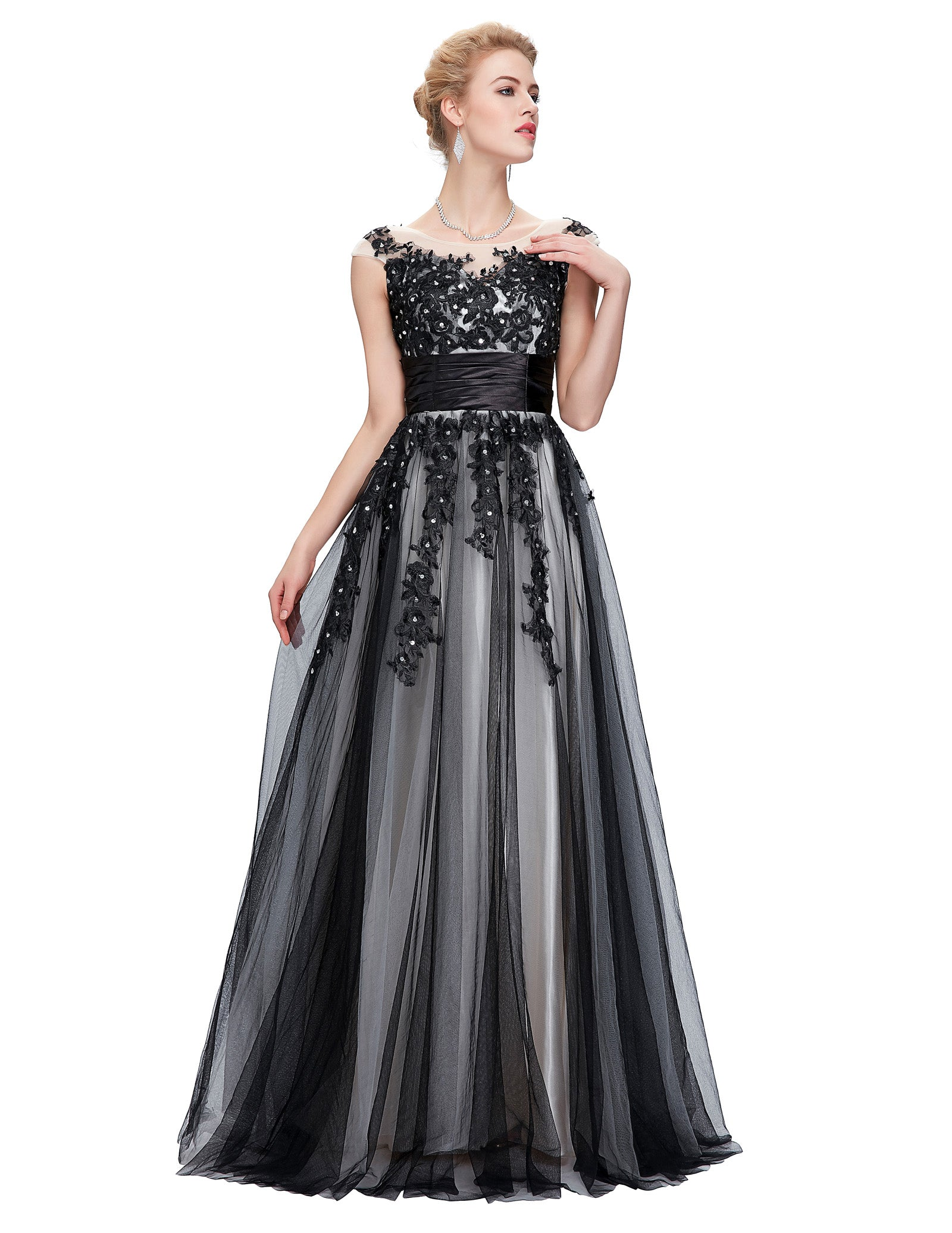 2a9a9084261 GK Sleeveless Soft Tulle Ball Gown Evening Prom Party Dress 8 Size US 2~16