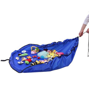 2 in 1 Portable Kids Toys Storage Bag