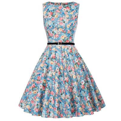 1950s vintage retro swing summer dress