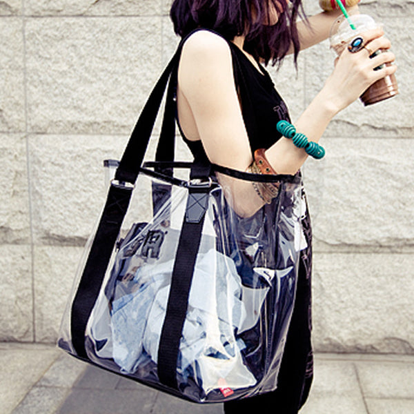 Beach Bag Waterproof Transparent Bag - PRESALE