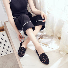 Load image into Gallery viewer, Hollow Breathable Flat Soft Bottom Women's Shoes