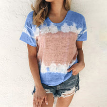 Load image into Gallery viewer, Gradient Color O-Neck T Shirts