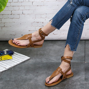 Summer Flip-flops And Strappy Sandals