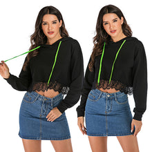Load image into Gallery viewer, Women's Casual Loose Hoodie Long Sleeve Tops Hooded Sweatshirt Blouse Plus Size
