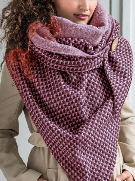 RETRO CHECK / PLAID SCARVES & Shawls