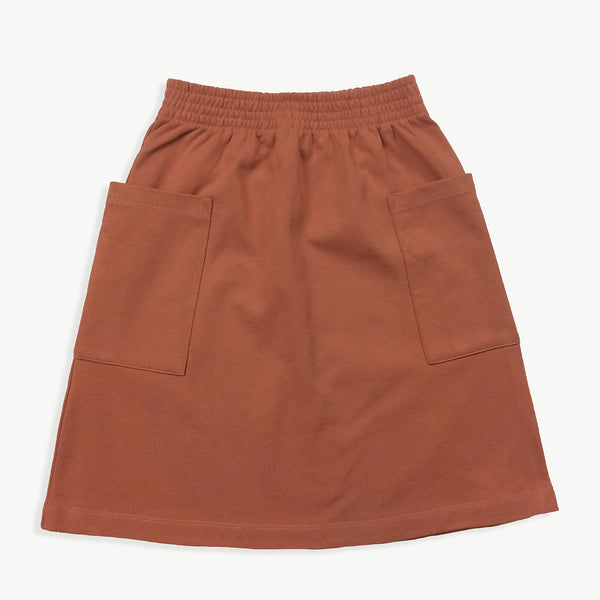 Clay Sweat Skirt