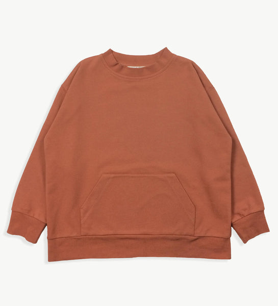 Clay Wide Sweatshirt