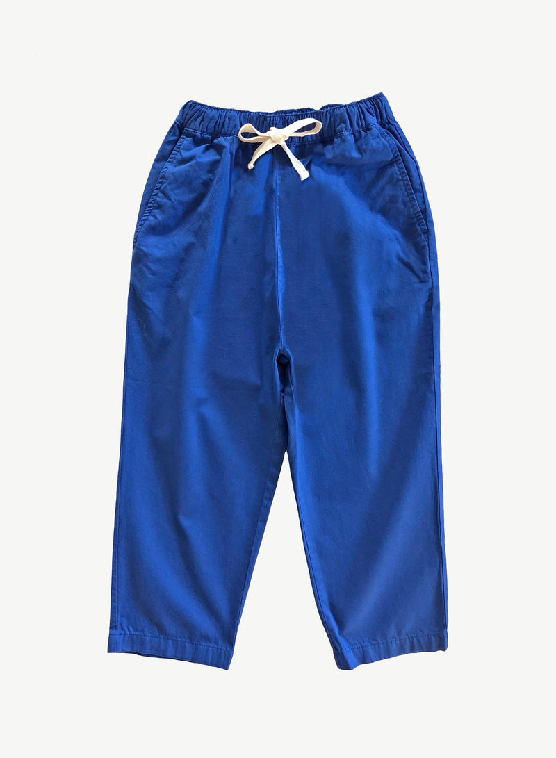 Deep Ultra Marine Relaxed Pant