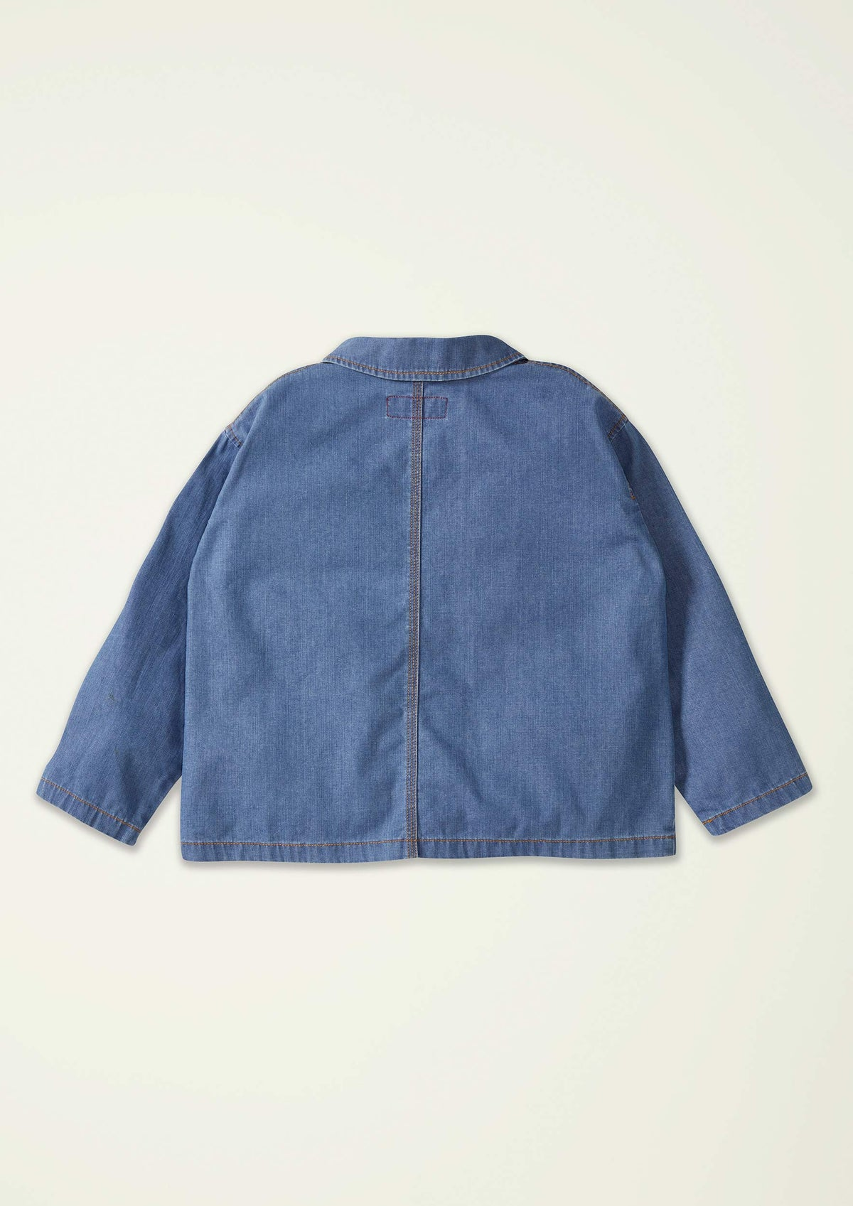 Light Blue Denim Overshirt