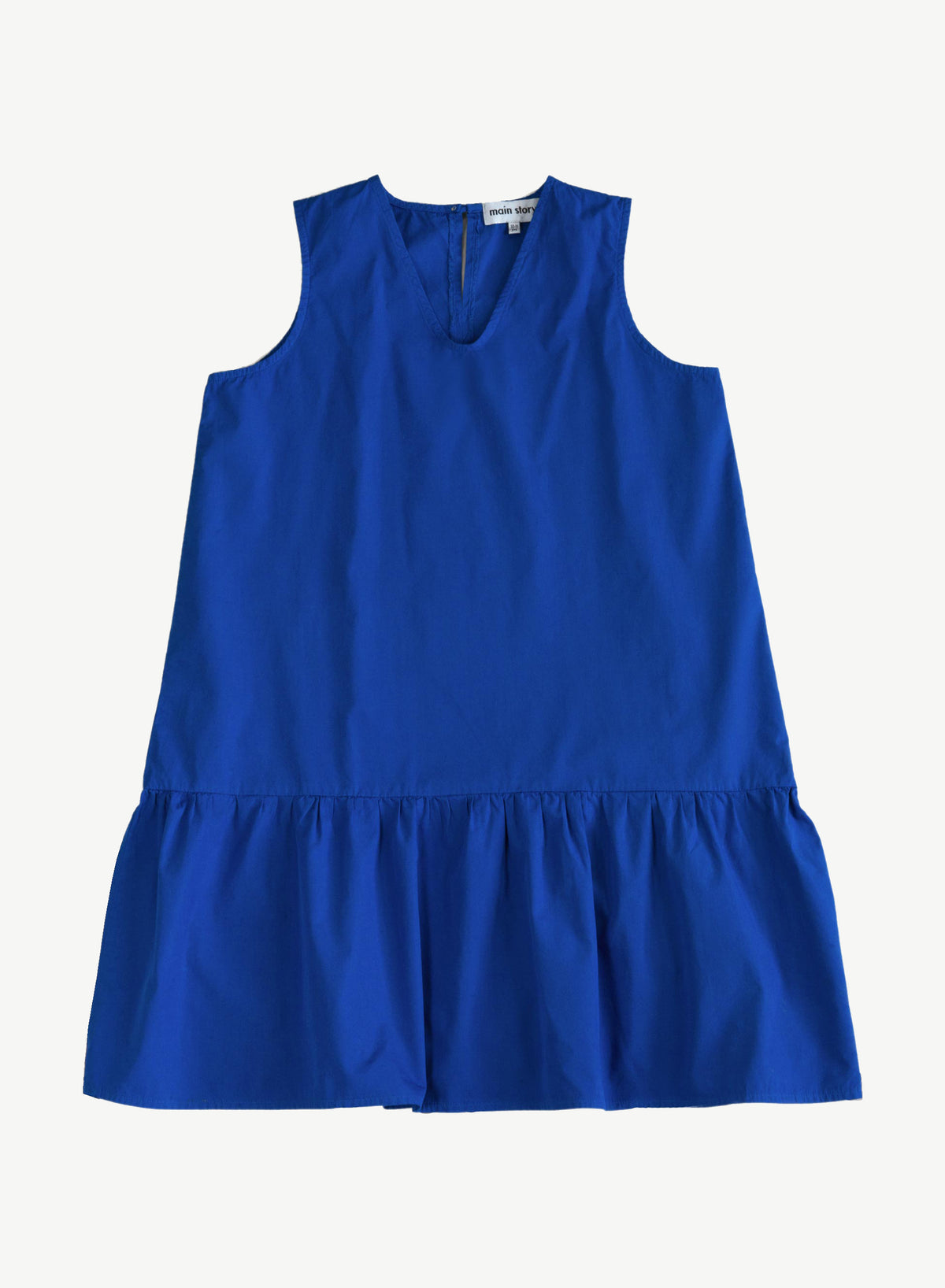 Dazzling Blue Frill Dress