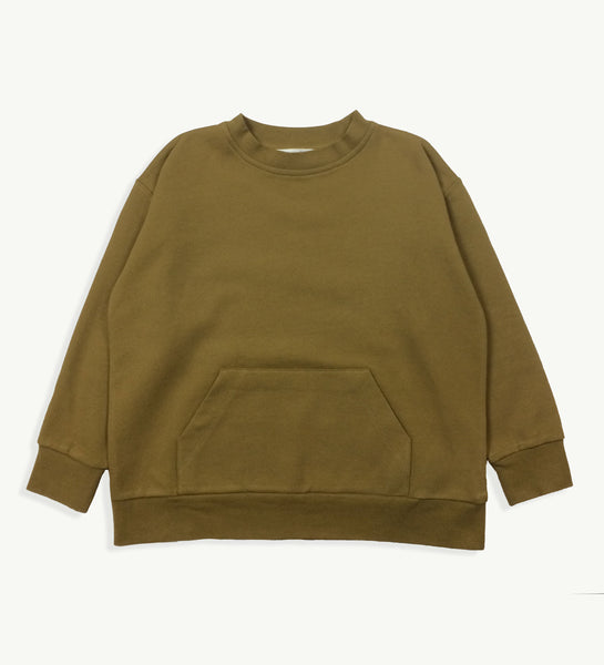 Moss Wide Sweatshirt