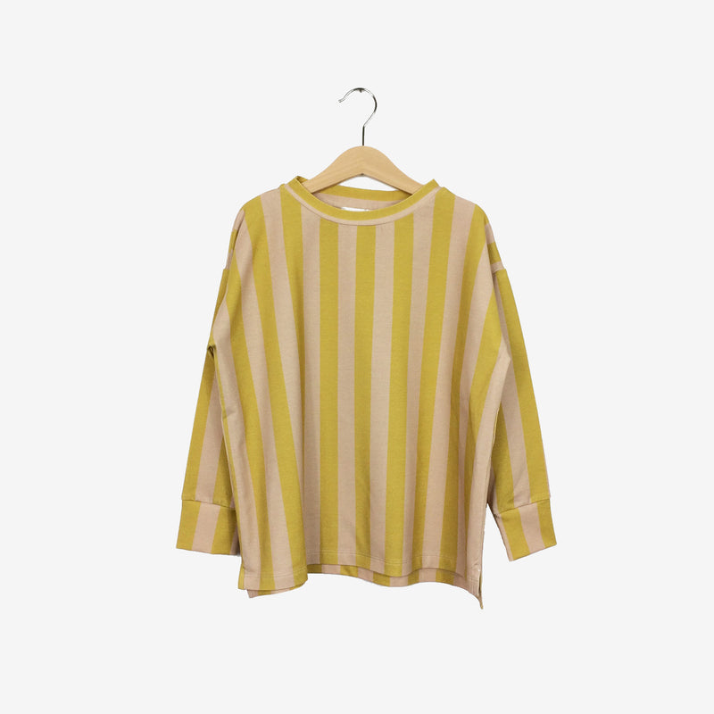 Stripe Over-sized Top