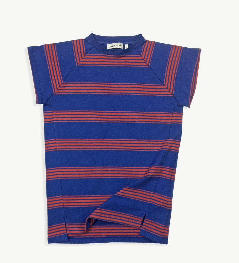 Stripe Sweatdress
