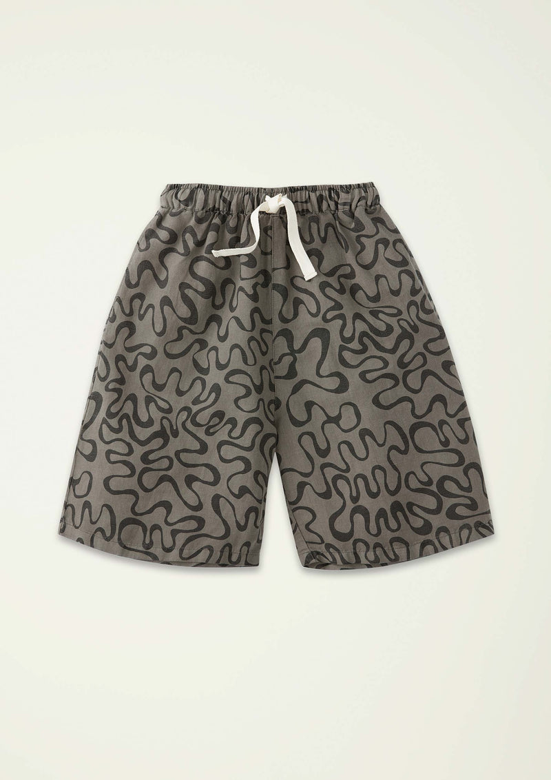 Squiggle Crop Pant