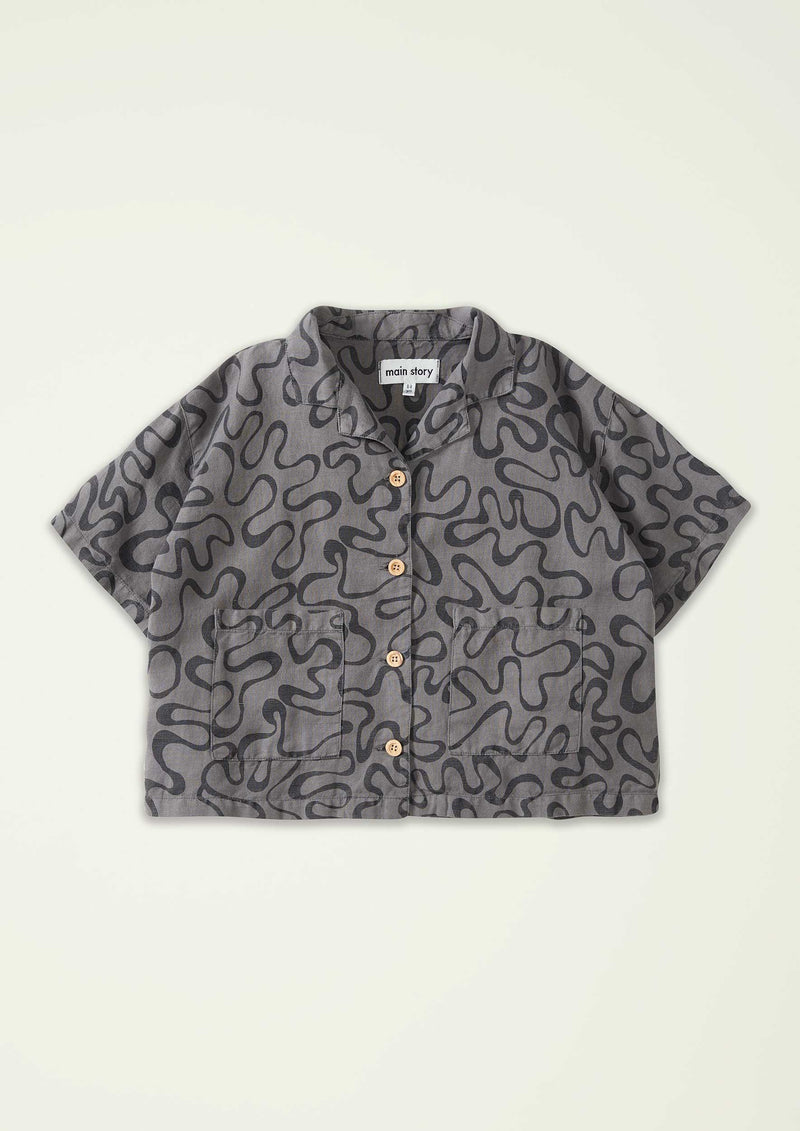 Squiggle Wide Shirt