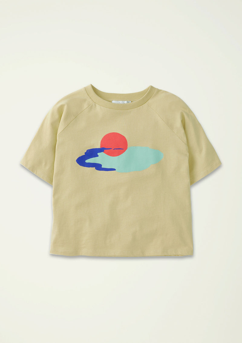 Sun & Cloud Over-sized Tee