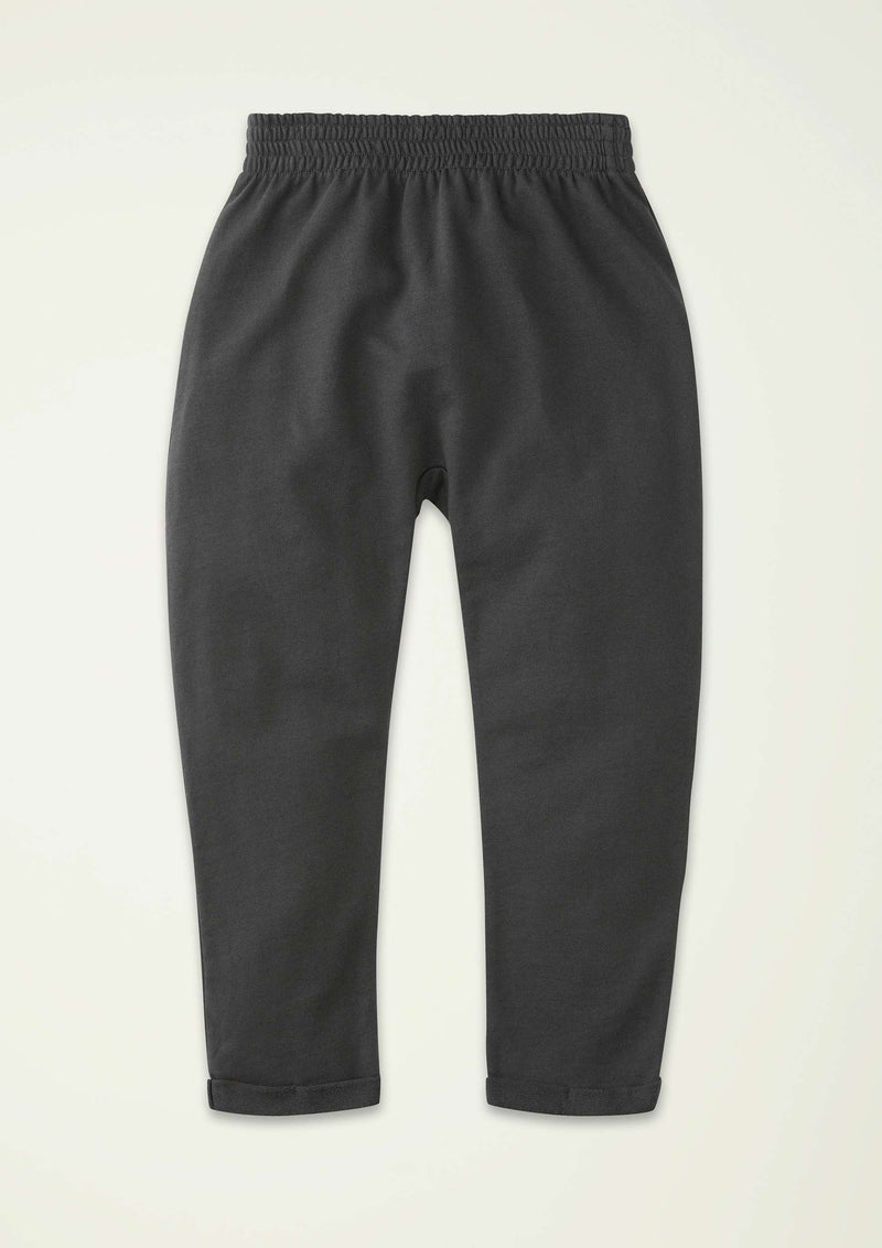Washed-Black Baggy Sweatpant