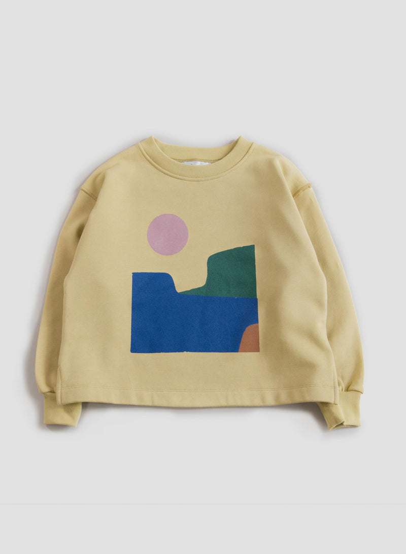 Cocoon Cropped Sweatshirt