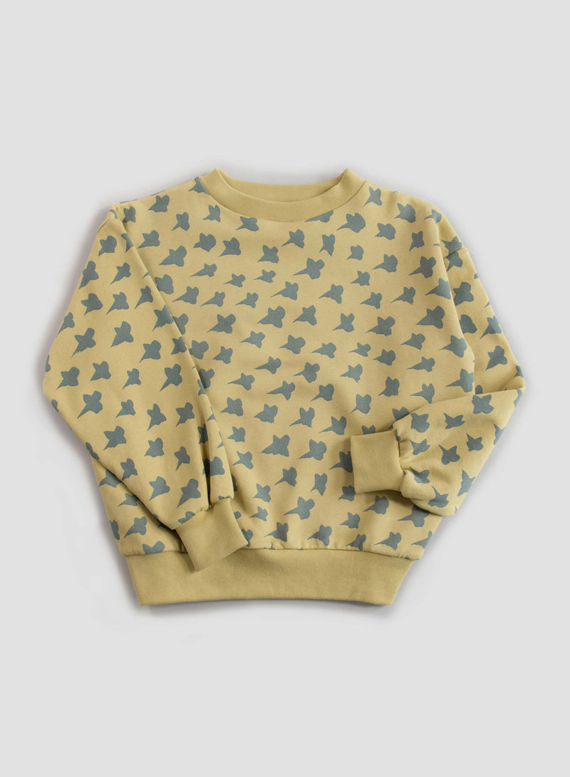 Cocoon Balloon Sweatshirt