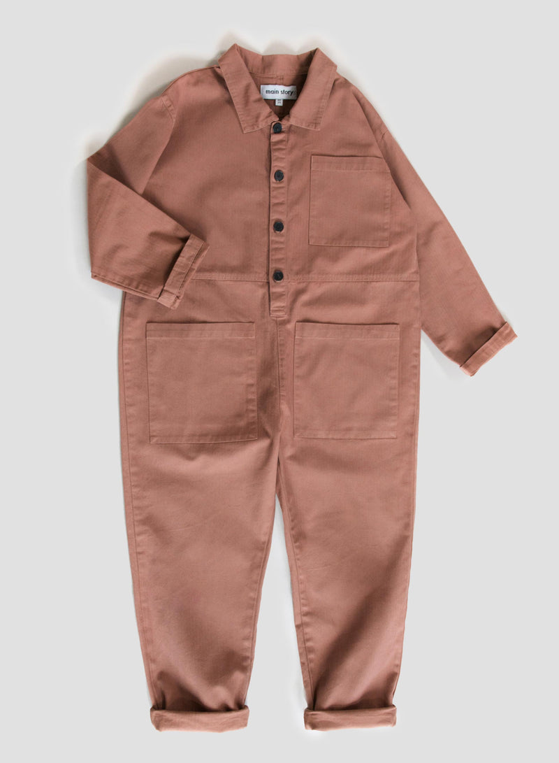 Mocha Mousse Jumpsuit
