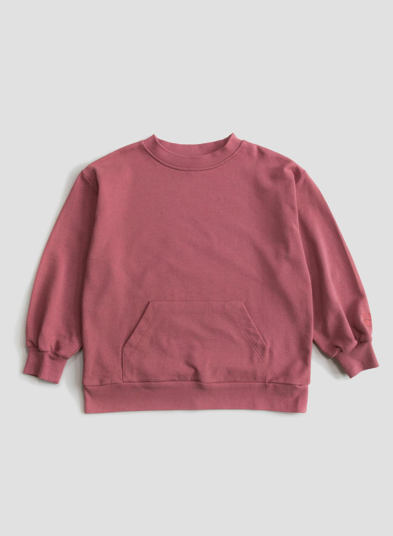 Red Apple Wide Sweatshirt