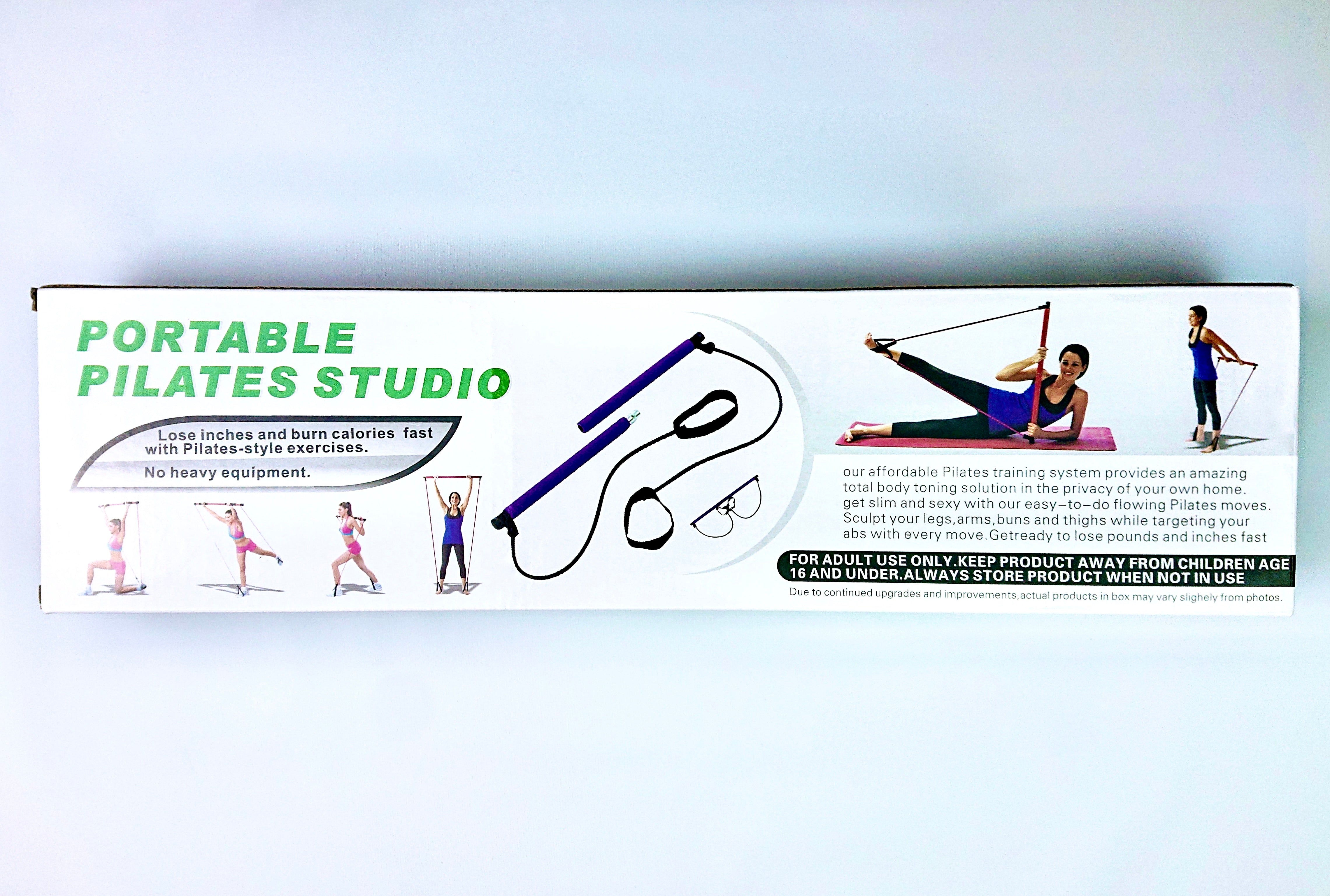 Portable Pilates Studio in a box, free gift