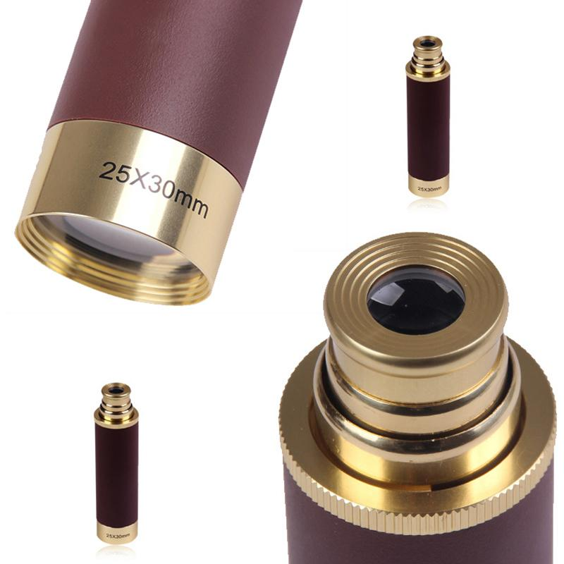 Retractable Antique Pirate Monocular