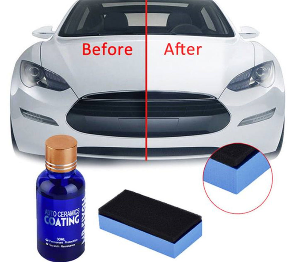 Car Liquid Ceramic Coat Hydrophobic Glass Paint Care Anti-Scratch - DEALS EveryTime