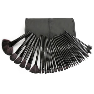 Makeup Brush Set 32Pcs (Black) - DEALS EveryTime