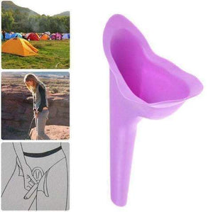 Women Soft Silicone Urinal Camping Travel Urination Toilet Urine Device