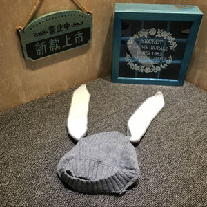 Infant Knitted Baby Hat Adorable Rabbit Long Ear Hat - DEALS EveryTime