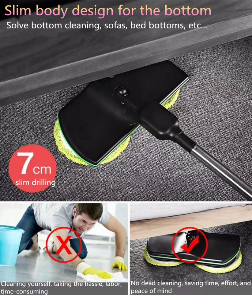 Wireless Rotary Electric Mop (1 Set)