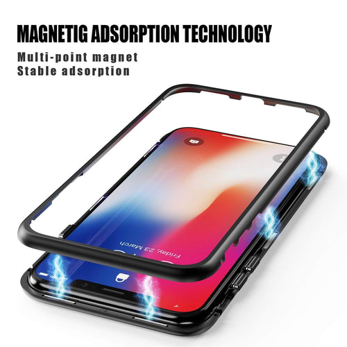 Ultra-Thin Magnetic Adsorption Metal Frame Case for Iphone