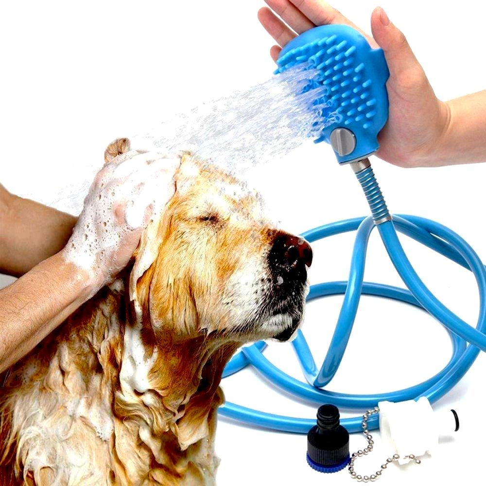 shower washer cleaning woof kit dog gently ring product puppy bath degree pet