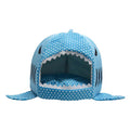 Shark Shape warm soft Dog House