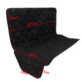 Coral Fleece Pet Dog Automobiles Waterproof & Warm Seat Cover