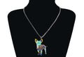 Women's Alloy Chihuahua Pattern Necklace