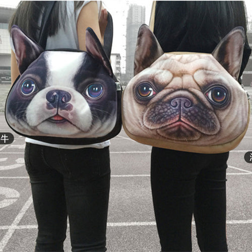 Cute Cartoon Dog Shoulder Bag