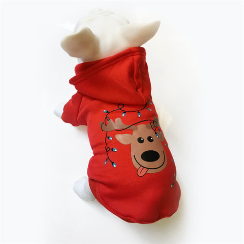 Christmas Dog Hoody (for small and medium dog)