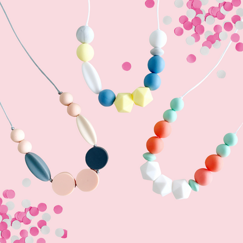 (Teether Necklaces by Wildberry)