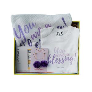 The Blessing Mother & Baby Box - Lavender
