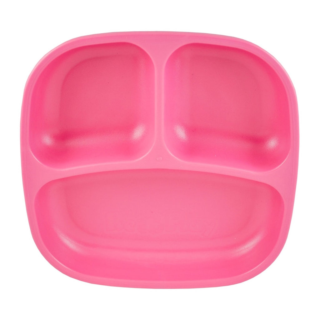 RE-PLAY Divided Plates - Bright Pink