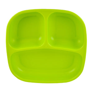 RE-PLAY Divided Plates - Lime Green