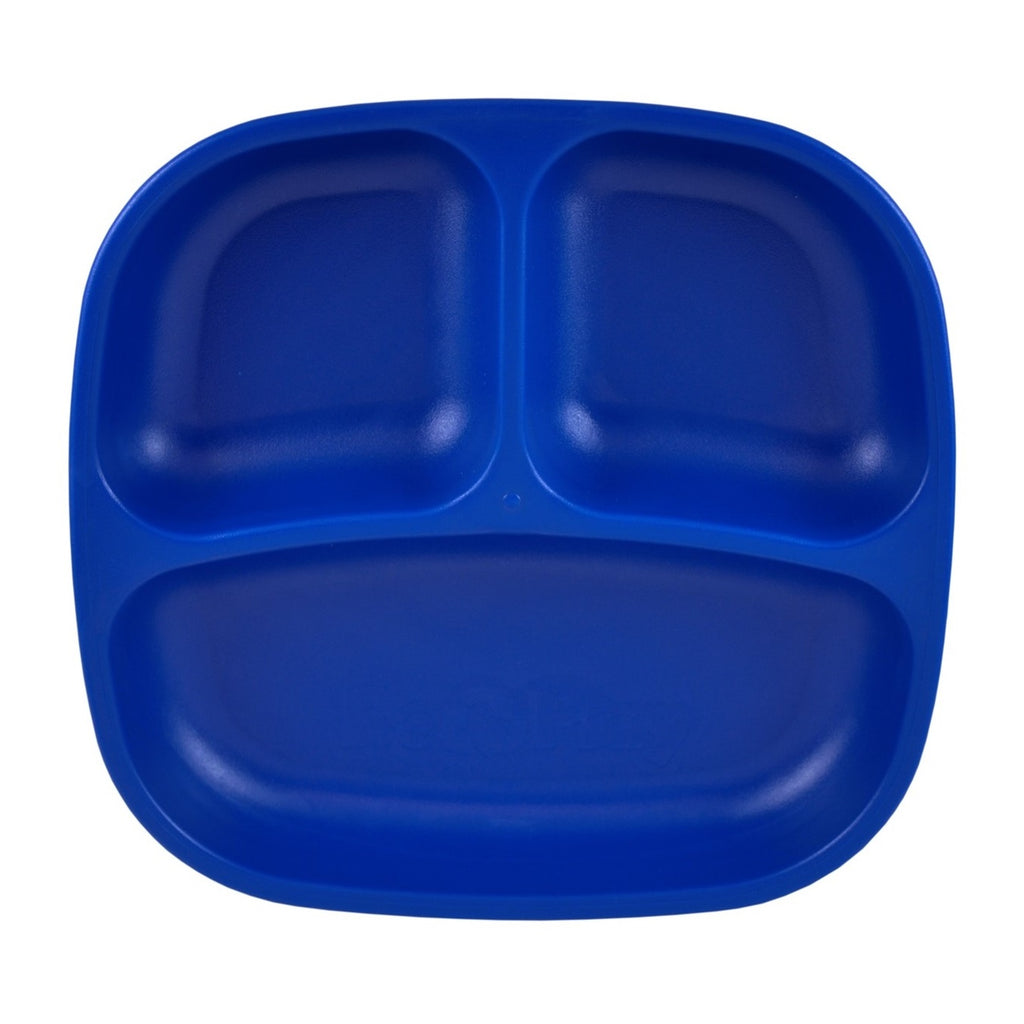 RE-PLAY Divided Plates - Navy Blue