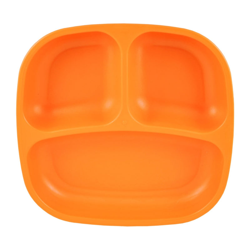 RE-PLAY Divided Plates - Orange