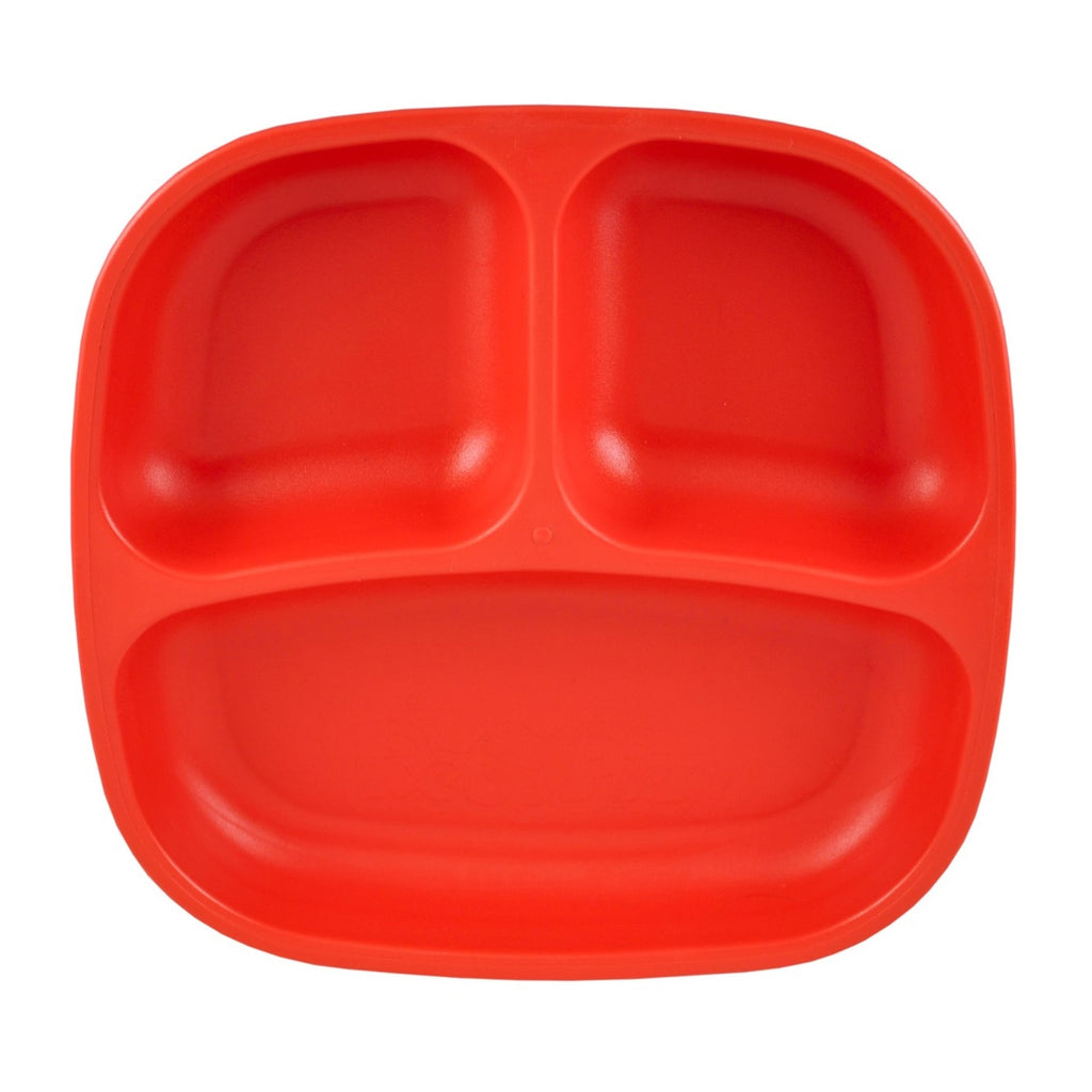 RE-PLAY Divided Plates - Red